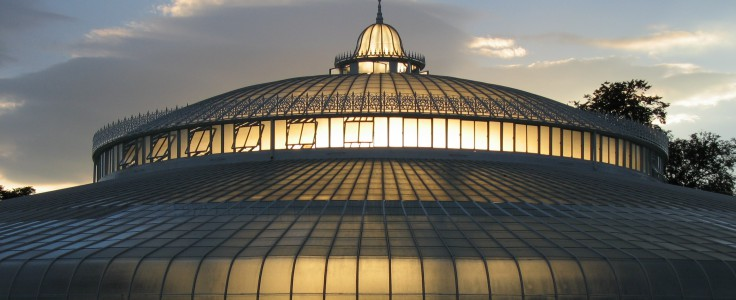 The Kibble Palace in Glasgow Botanic Gardens. Photo by Jan Zeschky. Licensed under CC-BY-2.0.