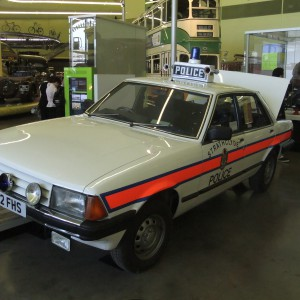 Strathclyde Police Ford Granada by Alex Liivet licensed under CC-BY-2.0.